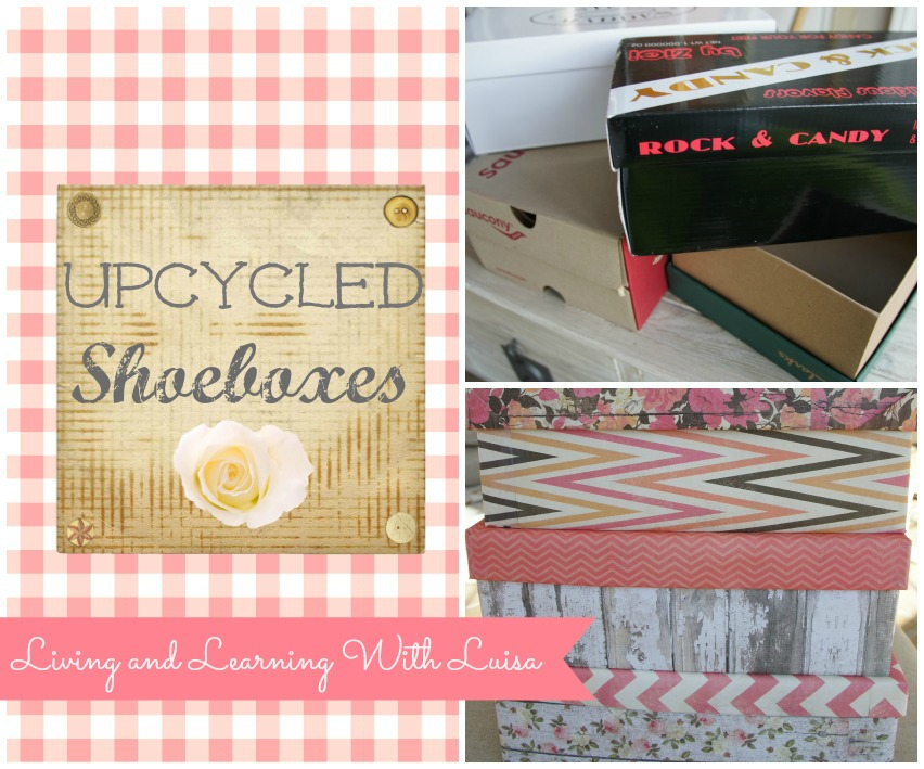 Upcycle Shoeboxes