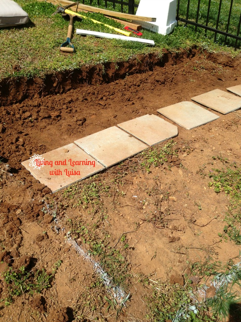 how to build steps on a slope