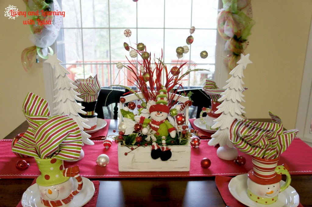 Christmas Kitchen Table