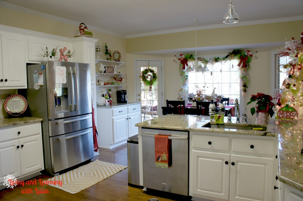 are we in the north pole a christmas kitchen. Black Bedroom Furniture Sets. Home Design Ideas