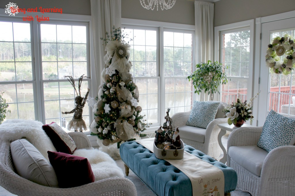 Christmas Sunroom
