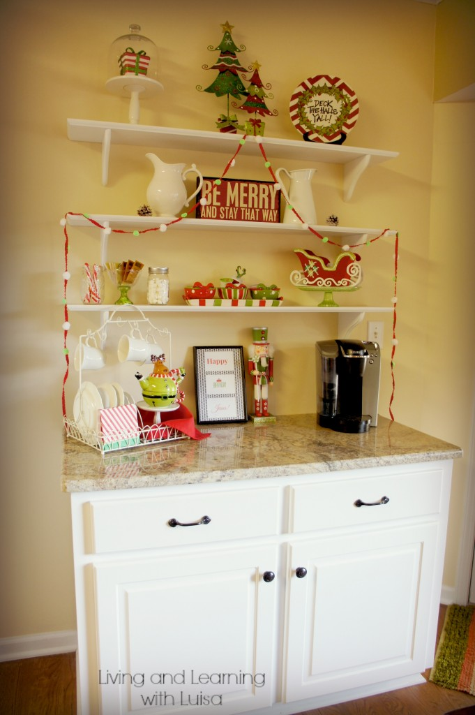 whimsical Christmas kitchen