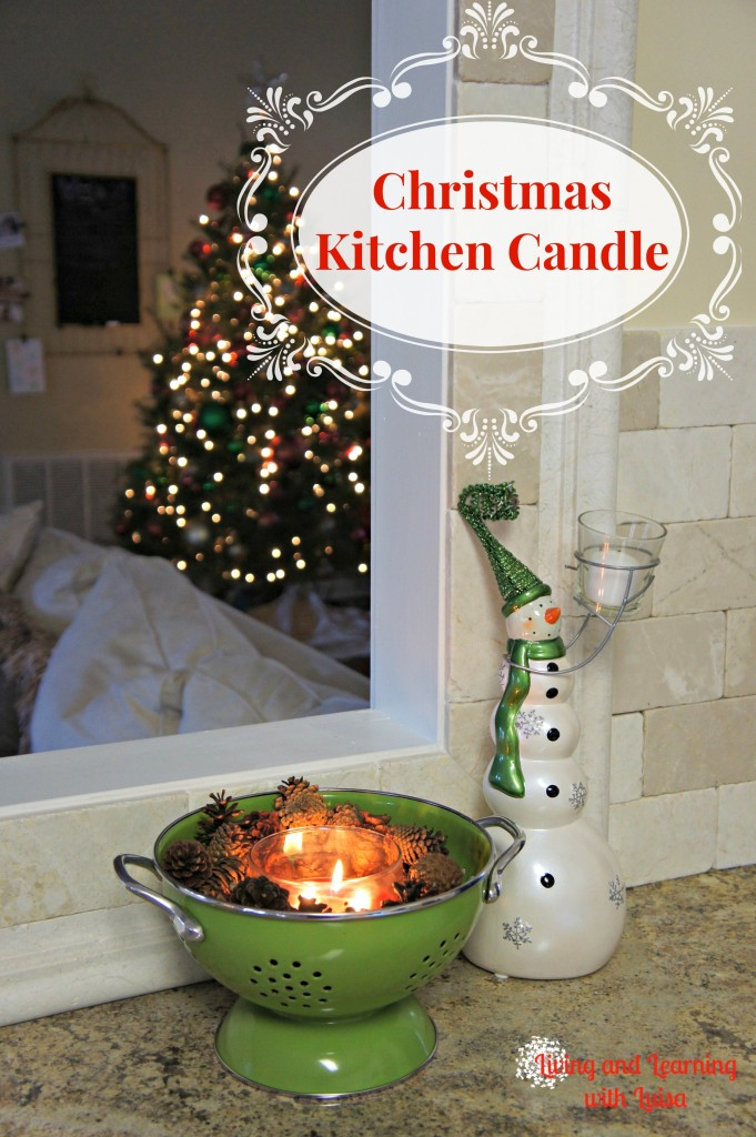 kitchen candle