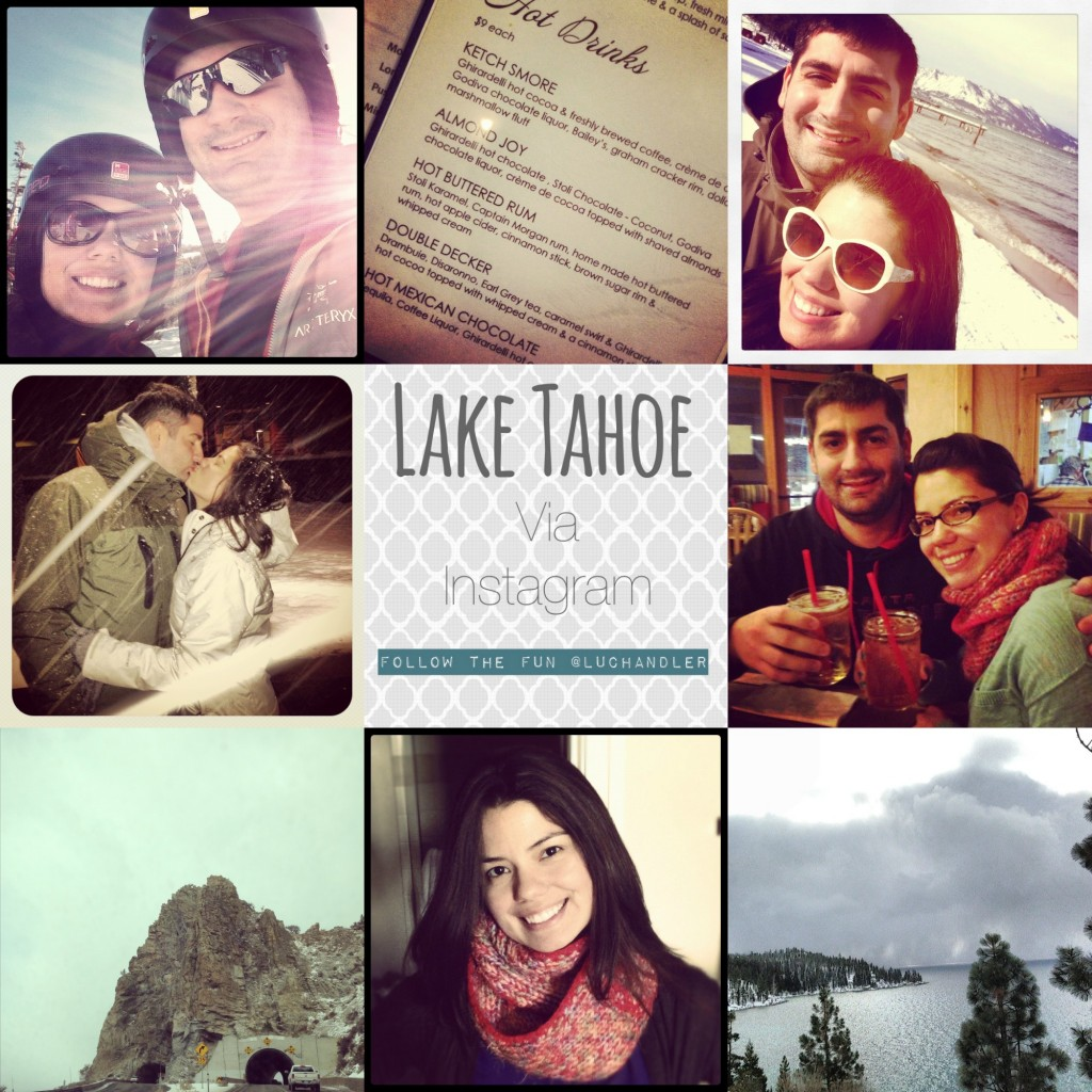 tahoe instagram Collage