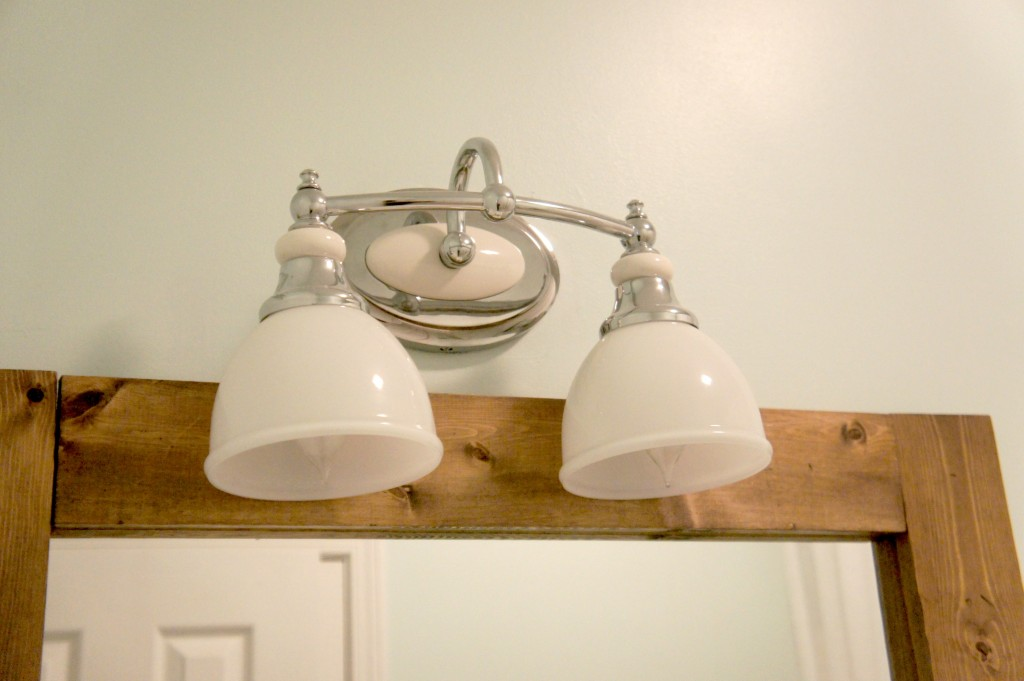 bathroom light fixture